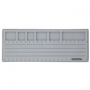 "Beadalon 20"" Bead Board Grey"