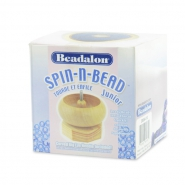 Beadalon Spin-N-Bead Junior Bead Loader Wood