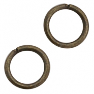 Findings TQ metal jumpring 16mm Antique Bronze (Nickel Free)
