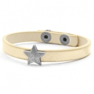 Ready-made bracelets stud star Soft Yellow Gold