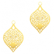 Bohemian charms drop Gold