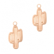 Bohemian charms cactus Rose Gold
