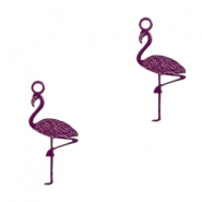 Bohemian charms flamingo Dark Purple