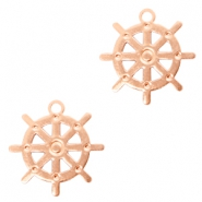 Bohemian charms rudder Rose Gold