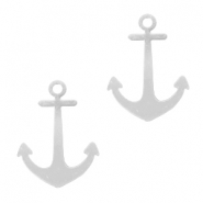 Bohemian charms Anchor Silver