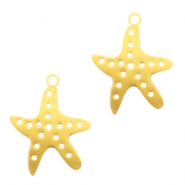 Bohemian charms seastar Gold