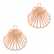Bohemian charms shell Rose Gold