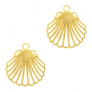 Bohemian charms shell Gold