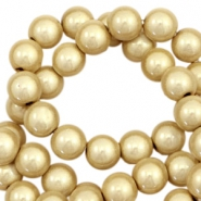 Miracle 3D beads 12mm Champagne gold Beige
