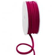 Stitched Elastic Ibiza Ribbon Velvet Purple