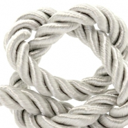 Trendy cord weave 6mm Silver
