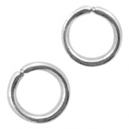 Stainless Steel findings jump ring 3mm Antique Silver