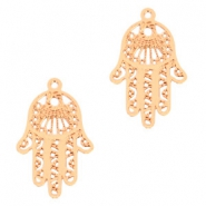Bohemian charms Hamsa hand Rose Gold