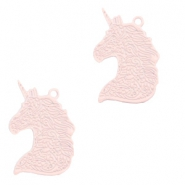 Bohemian charms unicorn Light Pink