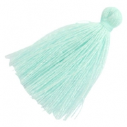 Tassels basic 3cm Light Turquoise Blue