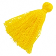 Tassels basic 3cm Yellow