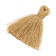 Tassels basic 2cm Light Camel Brown
