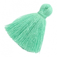 Tassels basic 2cm Light Turquoise Green