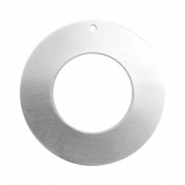 ImpressArt stamping blanks charms ring 25mm Aluminum Silver