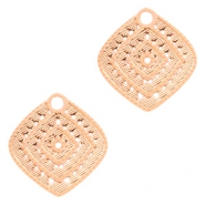 Bohemian charms rhombus Rose Gold