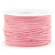 Waxed cord 1mm Pink