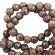 8 mm natural stone beads Brown