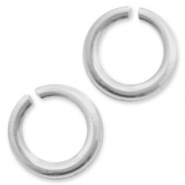 925 Silver findings jump rings 5mm Silver