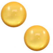 20 mm classic Polaris Elements cabochon soft tone shiny Mineral Yellow