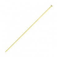 Beadalon Headpins 50mm Gold