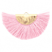 Tassels charm Light Pink-Gold