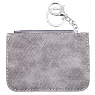 Trendy wallets snake Grey