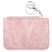 Trendy wallets snake Vintage Pink