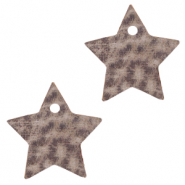 DQ European leather charms star Toffee Brown