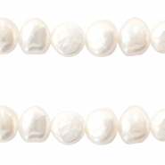 Freshwater pearls 8-9mm Natural White