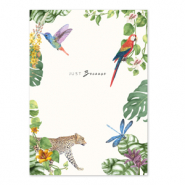 Jewellery cards 'just because' Multicolour White