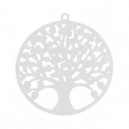 Bohemian charms tree of life 25mm Silver (nickel free)