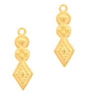 DQ European metal charms boho Gold (nickel free)