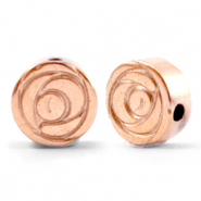 Hematite beads rose 6mm Rose Gold
