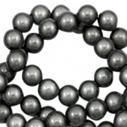 Miracle 3D beads 8mm Grey Taupe