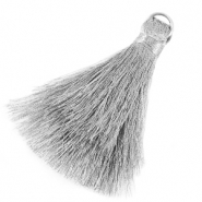 Tassels 6cm Limited edition Silver
