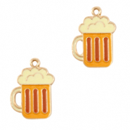 Metal charms beer pull Gold-Yellow