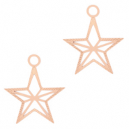 Bohemian charms star Rose Gold