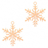 Bohemian charms snowflake Rose Gold