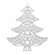 Bohemian charms christmas tree Silver