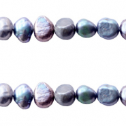 Freshwater pearls nugget 5-6mm Peacock Blue