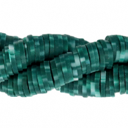 Katsuki beads 6mm Dark Teal Green