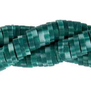 Katsuki beads 4mm Dark Teal Green