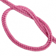 Trendy cord woven Vintage Pink