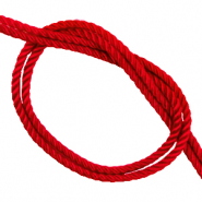 Trendy cord woven Candy Red