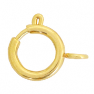 Stainless steel findings clasp 14x17mm Gold